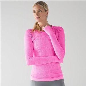 Lululemon Swiftly Tech Long Sleeve Pink Size 6